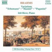 İdil Biret: BRAHMS: Variations Opp. 9, 24 & 35 - CD