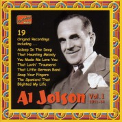 Jolson, Al: Al Jolson, Vol. 1 (1911-1914) - CD