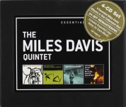 Miles Davis Quintet: Essential Albums: Cookin'/Relaxin'/Workin'/Steamin' [4 CD Box Set] - CD
