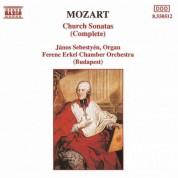 Janos Sebestyen: Mozart: Church Sonatas (Complete) - CD