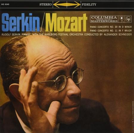 Rudolf Serkin: Mozart: Piano Concertos No. 11 & 20 - Plak