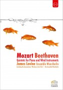 Ensemble Wien-Berlin, James Levine: Beethoven/ Mozart: Quintets for Piano and Wind Instruments - DVD