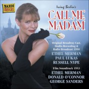 Berlin: Call Me Madam (Original Broadway Cast) (Studio Recording) (1950) - CD