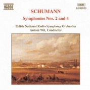 Schumann, R.: Symphonies Nos. 2 and 4 - CD