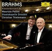 Christian Thielemann, Maurizio Pollini, Staatskapelle Dresden: Brahms: Piano Concerto No.1 - CD