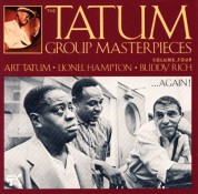 Art Tatum, Lionel Hampton, Buddy Rich: Tatum Group Masterpieces, Vol.4 - CD