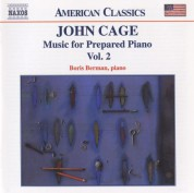 Boris Berman: Cage: Music for Prepared Piano - CD