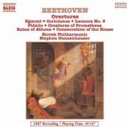 Stephen Gunzenhauser, Slovak Philharmonic Orchestra: Beethoven: Overtures, Vol. 1 - CD