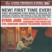 Byron Janis, Philharmonisches Orchester Moskau, Kirill Kondrashin: Prokofiev: Piano Concerto No. 3 / Rachmaninov: Piano Concerto No. 1 - Plak