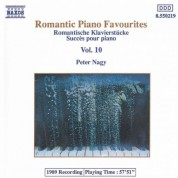 Péter Nagy: Romantic Piano Favourites, Vol. 10 - CD