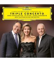Anne-Sophie Mutter, Yo-Yo Ma, Daniel Barenboim: Beethoven: Triple Concerto - BluRay