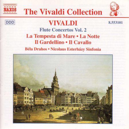Vivaldi: Flute Concertos, Vol.  2 - CD