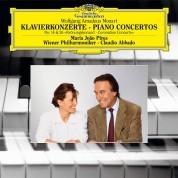 Maria João Pires, Claudio Abbado, Wiener Philharmoniker: Mozart: Piano Concertos Nos. 14 & 26 - Plak