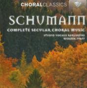 Studio Vocale Karlsruhe, Werner Pfaff, Renner Ensemble, Bernd Engelbrecht: Schumann: Complete Secular Choral Music - CD