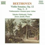 Beethoven: Violin Sonatas Op. 12,  Nos. 1-3 - CD