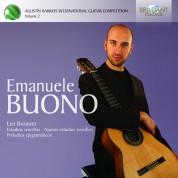Emanuele Buono: Brouwer: Estudios Sencillos, Preludios Epigramáticos - CD