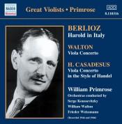 Berlioz, Walton, Casadesus: Harold In Italy/ Viola Concertos - CD