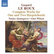 Le Roux: Complete Works for 1 and 2 Harpsichords - CD