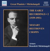 Arturo Benedetti Michelangeli: Michelangeli, Arturo Benedetti: Early Recordings, Vol. 2 (1939-1951) - CD