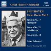 Artur Schnabel: Beethoven: Piano Sonatas Nos. 17, 18 & 21 (1932, 1934) - CD