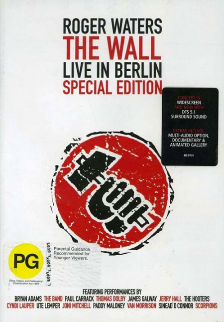 Roger Waters: The Wall Live In Berlin - DVD