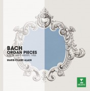Marie-Claire Alain: J.S. Bach: Organ Pieces - CD