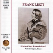 Valerie Tryon: Liszt: Schubert Song Transcriptions, Vol. 2 - CD