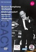 Boston Symphony Orchestra, Erich Leinsdorf: Beethoven/ Tchaikovsky: Egmont Overture/ Sym. No.5 - DVD