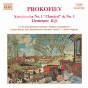 Prokofiev: Symphonies Nos. 1 and 5 - CD