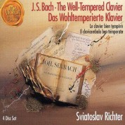 Sviatoslav Richter: Bach:The Well-Tempered Clavier - Das Wohltemperierte Klavier - CD