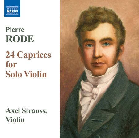 Axel Strauss: Rode, P.: 24 Caprices for Solo Violin - CD