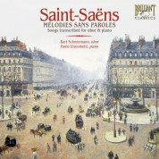 Bart Schneemann, Paolo Giacometti: Saint-Saëns: Melodie sans Paroles - CD