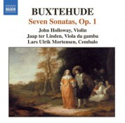 Buxtehude: Chamber Music (Complete), Vol. 1 - 7 Sonatas, Op. 1 - CD