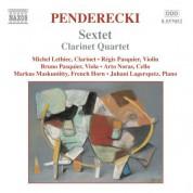 Penderecki: Sextet / Clarinet Quartet / Cello Divertimento - CD