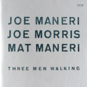 Joe Maneri, Joe Morris, Mat Maneri: Three Men Walking - CD