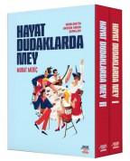 Murat Meriç: Hayat Dudaklarda Mey / Memleketin Anason Kokan Şarkıları (2 Kitap Takım Kutulu) - Kitap