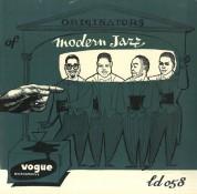 Çeşitli Sanatçılar: Originators Of Modern Jazz - Plak