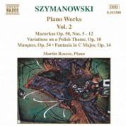 Szymanowski: Piano Works, Vol.  2 - CD