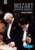 Peter Schmidl, Vienna Philharmonic Orchestra, Leonard Bernstein: Mozart: Clarinet Concerto, Symphony No.25 - DVD