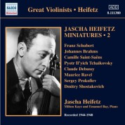Jascha Heifetz Miniatures, Vol. 2 (1944-1948) - CD