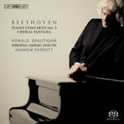 Ronald Brautigam, Norrköping Symphony Orchestra, Andrew Parrott, Eric Ericson Chamber Choir: Beethoven: Piano Concerto No.5 & Choral Fantasia - SACD