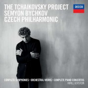 Semyon Bychkov, Czech Philharmonic Orchestra: Tchaikovsky: Complete Symphonies and Piano Concertos - CD