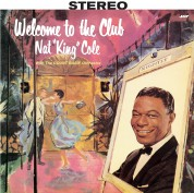 """Nat """"King"""" Cole: Welcome To The Club (With The Count Basie Orchestra) - Plak"""