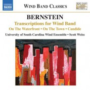 University of South Carolina Wind Ensemble: Bernstein: Transcriptions for Wind Band - CD