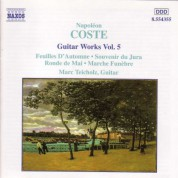 Coste: Guitar Works, Vol.  5 - CD