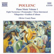 Poulenc: Piano Music, Vol.  1 - CD