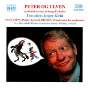 Prokofiev: Peter Og Ulven - CD