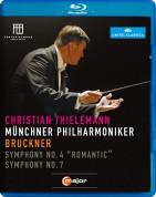 Münchner Philharmoniker, Christian Thielemann: Bruckner: Symphony Nos.4, 7 - BluRay