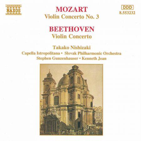 Mozart: Violin Concerto No. 3 / Beethoven: Violin Concerto in D Major - CD