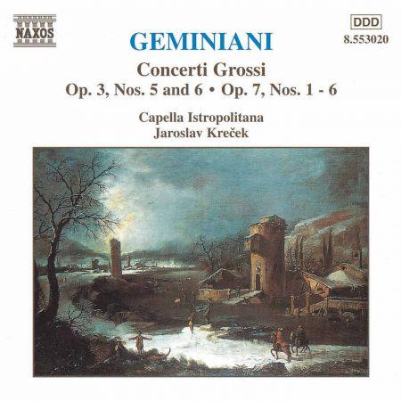 Geminiani: Concerti Grossi, Vol.  2 - CD